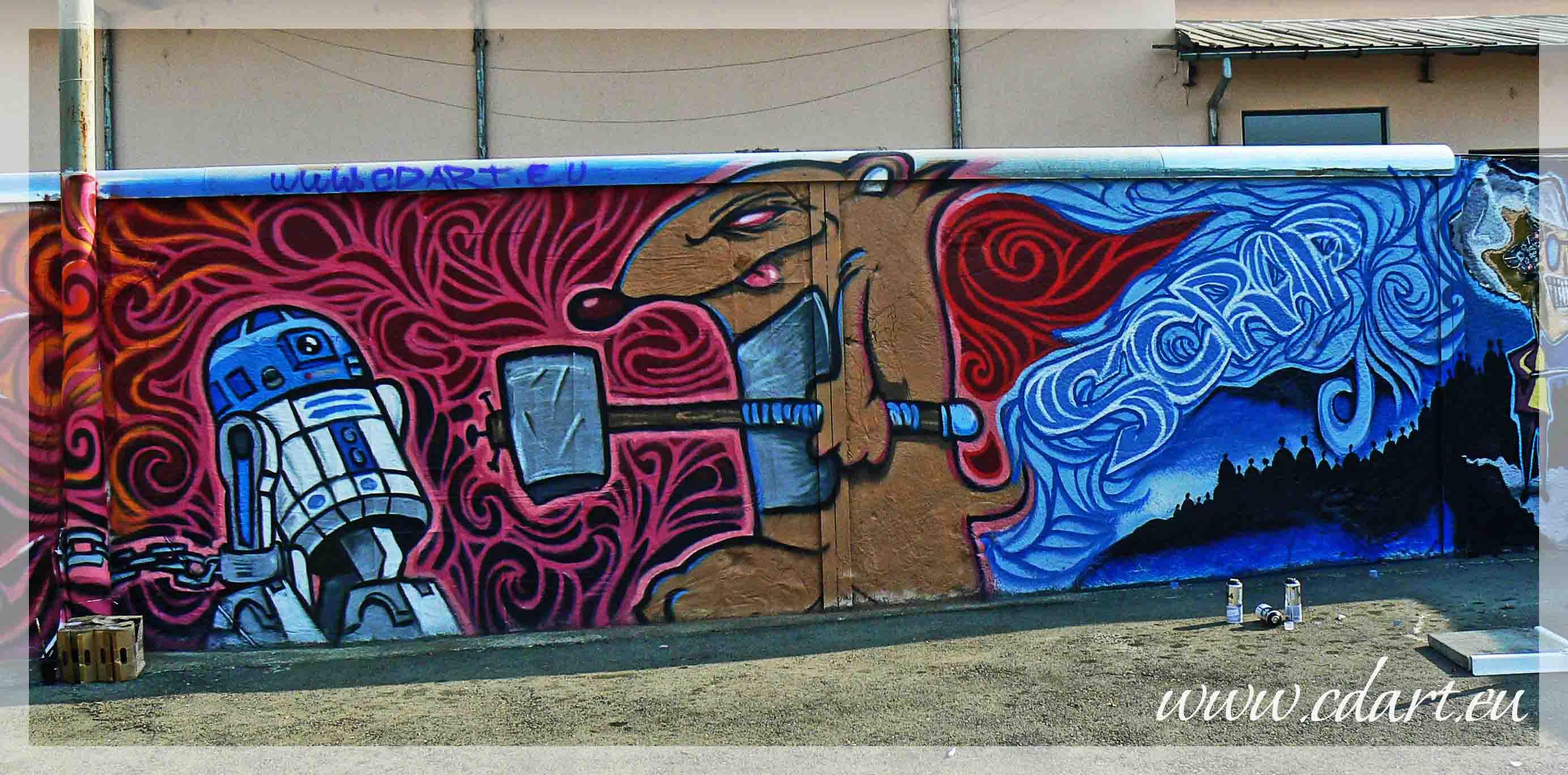 Scrap graffit go2