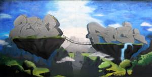 floating islands wall